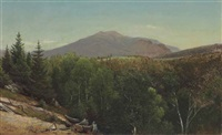 mount lafayette, new hampshire by david johnson