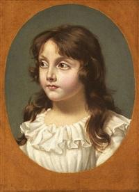 portrait présumé de jeanne désiré gensonné by joseph boze