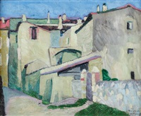 uliczka la vignan by marcin franciszek samlicki