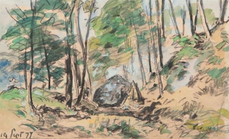le charbonnier by johan barthold jongkind