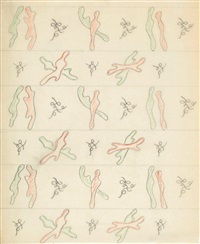 projet de tissus by toyen (maria cerminova)