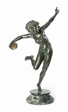 discus thrower by claire jeanne roberte colinet
