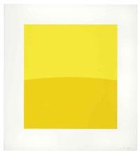 two yellows by ellsworth kelly