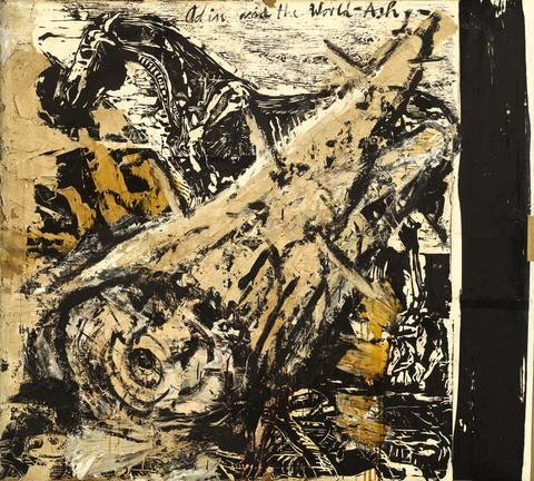 odin and the world ash another verso by anselm kiefer