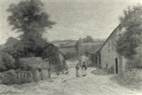 at lustleigh, devon by george oyston