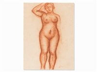 femme nue by aristide maillol