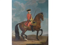 equestrian portrait of john jeffreys by david morier