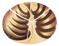 study for sc/hattered butterflies, from broken butterflies/shattered dreams by judy chicago