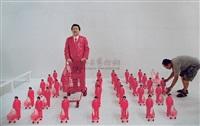 粉红部队 (共五十一件) (pink army) by manit sriwanichpoom