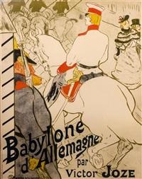babylone d'allemagne by henri de toulouse-lautrec