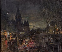 untitled by konstantin alexeievitch korovin