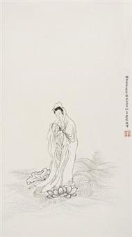 观世音菩萨像 by pu ru