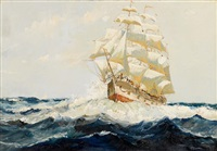 sailing the open sea by anthony thieme