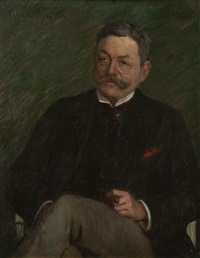 portrait of a gentleman by lilla cabot perry
