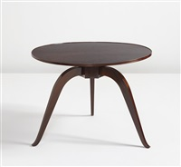 bas ducharne table, model no. 1044ar/1162nr by émile jacques ruhlmann