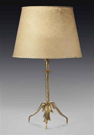 trepied a feuilles table lamp by alberto giacometti
