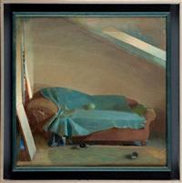 wnętrze z kanapą by janusz kaczmarski