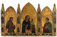 trittico by simone martini