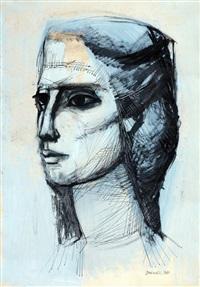 cabeza de mujer by zdravko ducmelic