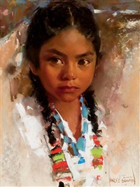 young powderface by harley brown