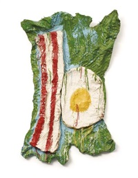 oldenburg store object, bacon and egg by sturtevant