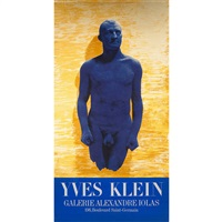 galerie alexandre iolas poster by yves klein