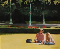 at the band stand, st. stephen's green by david mcelhinney