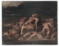 scena mitologica by théodore géricault