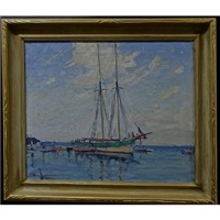 bluenose ii - lake ontario by manly edward macdonald