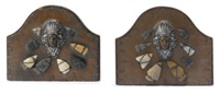 bookends (pair) by joseph heinrich