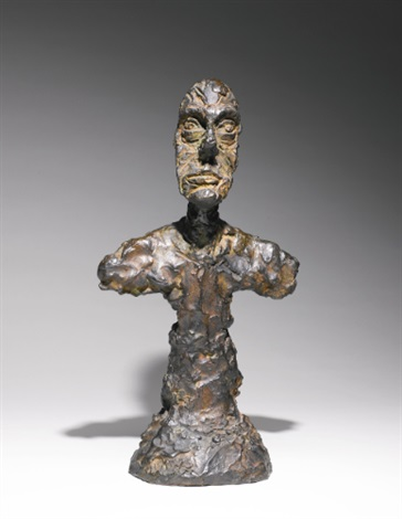 buste d homme new york ii by alberto giacometti