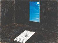 moonbeam mistaken for a newspaper for archie moen by james rosenquist