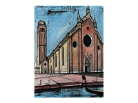 eglise des frari by bernard buffet
