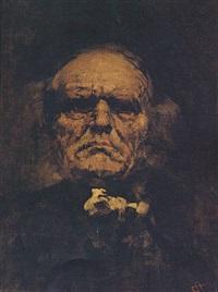 portrait of a man by symeon sabbides