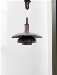 ph 4/4 ceiling light by poul henningsen