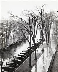 main street, saratoga springs, new york by walker evans