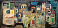 figures in the moonlight of safed by nachum gutman
