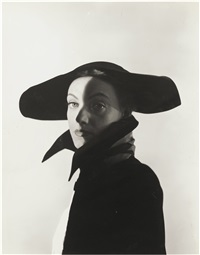 hat fashion, new york by erwin blumenfeld