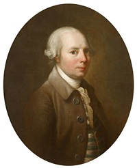 portrait of a gentleman by johann joseph zoffany