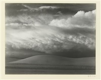 white sands. n. mexico by edward weston