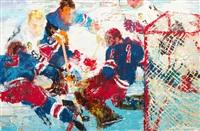 the goalie by leroy neiman
