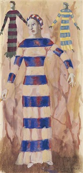 costume design for the duchess of malfi by pavel tchelitchew