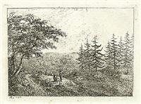 acht landschaften (portfolio of 7) by friedrich rauscher