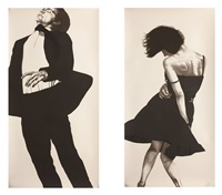 jonathan, meryl (from men in the cities) by robert longo