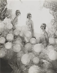soapsuds group at the living poster ball by cecil beaton