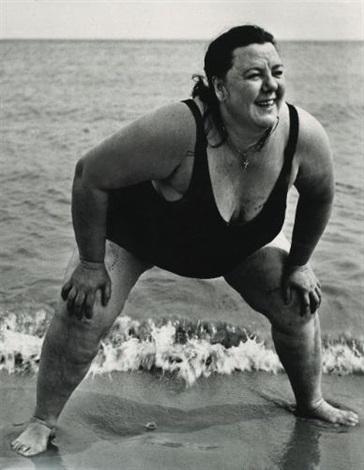 coney island bather new york by lisette model