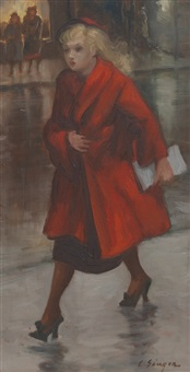 red coat by clyde singer