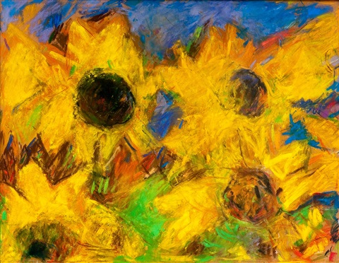 sunflowers by rafael wardi