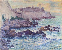 les renforts d'antibes esquisse by maxime maufra