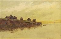 fishing village by nikolai nikanorovich dubovskoy